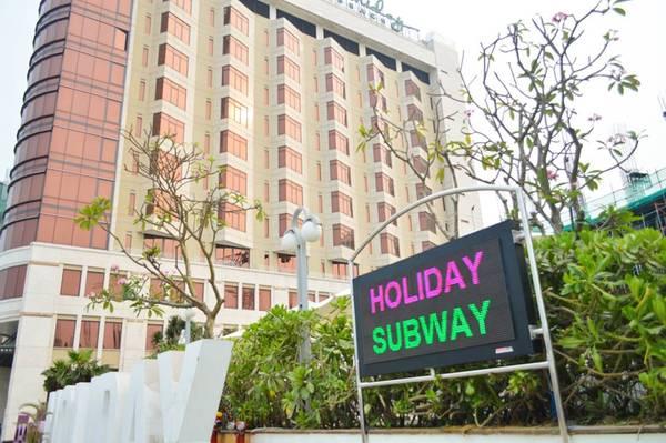 Đường hầm tọa lạc tạisố300 Võ Nguyên Giáp, Q.Ngũ Hành Sơn, Đà Nẵng.