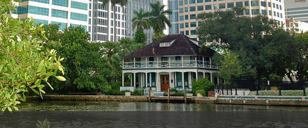 Stranahan House xây dựng năm 1901 là ngôi nhà lâu đời nhất ở Fort Lauderdale - Ảnh: flickr