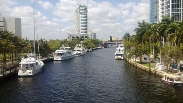 Khu New River ở trung tâm Fort Lauderdale - Ảnh: wiki