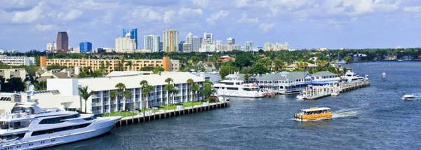 Taxi nước, phương tiện vận chuyển lý thú ở Fort Lauderdale - Ảnh: wp