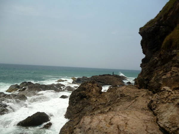 Một điểm dừng chân tuyệt đẹp dưới chân ghềnh - Ảnh: Nguyễn Thành Giang