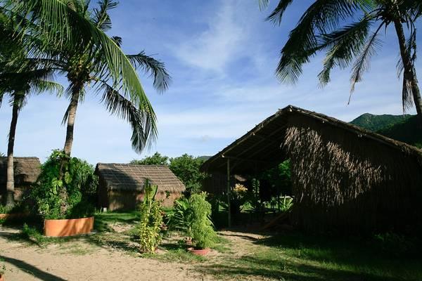 Không gian xanh mướt của Jungle Beach.