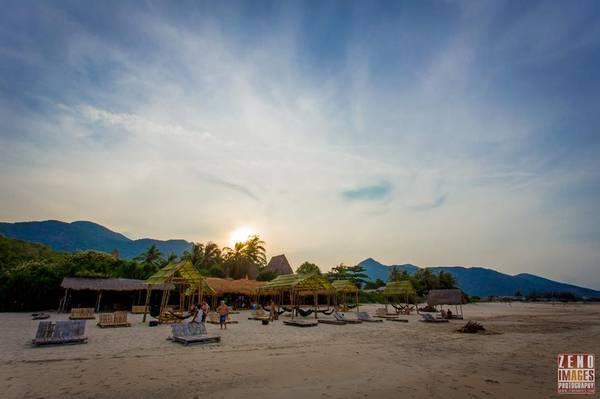 Jungle Beach nép mình trong bán đảo Hòn Hèo hoang vắng. Ảnh: Zeno