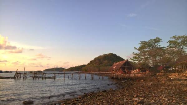Cầu tàu trên đảo - Ảnh: CTV
