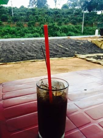 Thưởng thức cà phê chỉ với 10.000 đồng tại Di Linh.