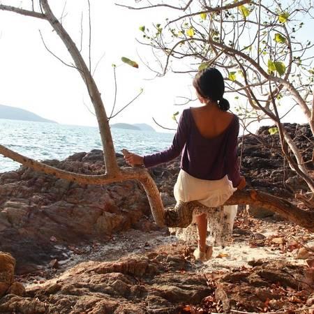 Thư giãn ở Nam Du. Ảnh: @hell.ss