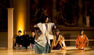 Kịch Noh là một loại hình nghệ thuật vượt thời gian và được người Nhật rất trân trọng. Ảnh: coreofculture.org