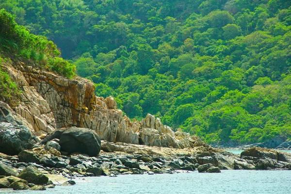 Một góc Vườn Quốc gia Côn Đảo. Ảnh: Trần Minh Sướng.