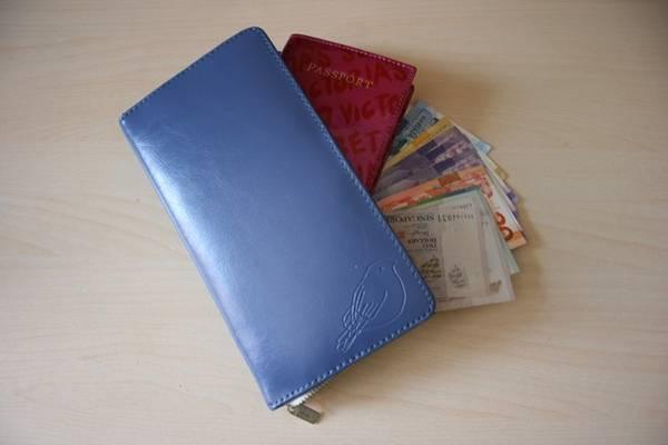 Hộ chiếu, các loại thẻ và tiền bạc là vật bất ly thân của du khách.