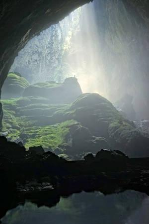 Doline 1 có nhiều khay nước (như ruộng bậc thang) phản chiếu ánh sáng làm cho khung cảnh như trong các bộ phim thần thoại.