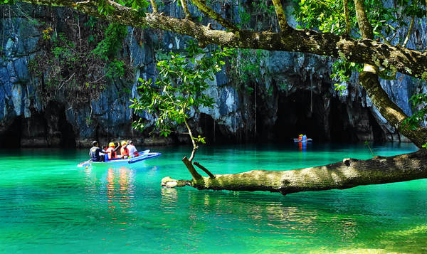 Sông ngầm Puerto Princesa. Ảnh: Richard Raba
