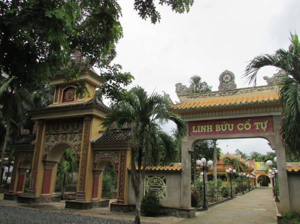 Chùa cổ Linh Bửu, một trong bốn ngôi chùa ở Tân Phú Đông - Ảnh: N.T.Đăng