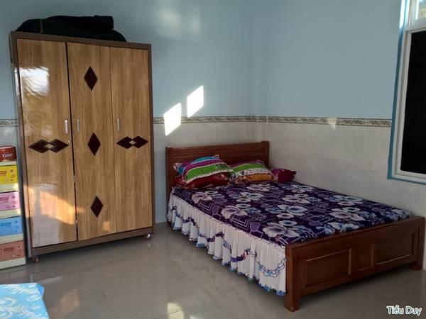 Quán Thanh Trà còn có phòng nghỉ dành cho 2 người với giá chỉ khoảng 200.000 đ/đêm. Ảnh: Tiểu Duy