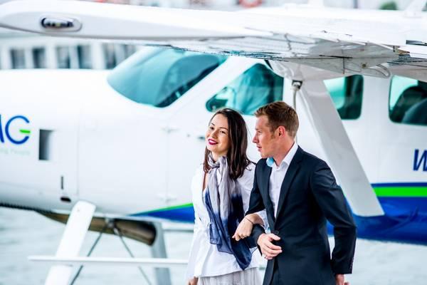 Hàng không Hải Âu là hãng hàng không tư nhân đầu tiên cung cấp dịch vụ thủy phi cơ tại Việt Nam.