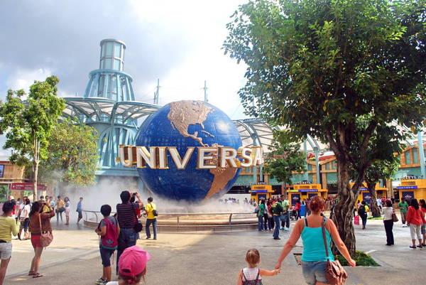 Universal Studios quả thật là thiên đường giải trí dành cho mọi lứa tuổi. Ảnh: travellingmoods