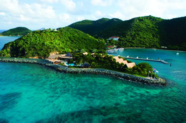 Peter Island Resort & Spa, British Virgin Islands: Khu nghỉ dưỡng đặc biệt với dịch vụ kiểu Caribbe thời xưa. Tivi chỉ được phục vụ khi khách yêu cầu.