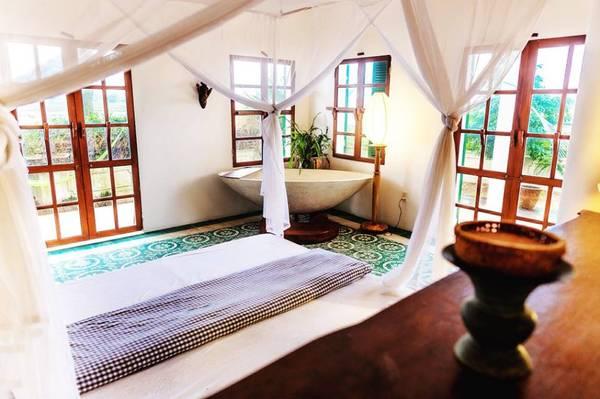 Mỗi căn phòng nghỉ tạiHeron House rộng khoảng65 mét vuông với đầy đủ tiện nghi.