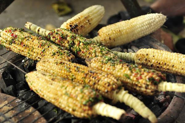 Bắp nướng mắm nêm ăn tại Phú Yên sẽ tạo cho thực khách những dư vị riêng rất lạ. Ảnh:danphuyen.com
