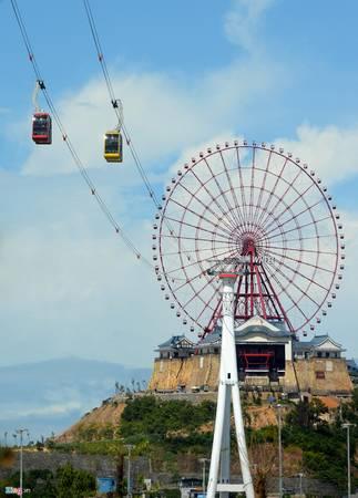 Vòng quay Sun Wheel tại đây thuộc diện cao nhất thế giới so với mực nước biển khoảng 215 m.