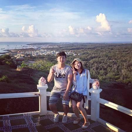 Phong cảnh nhìn từ chùa Linh Sơn. Ảnh: instagram