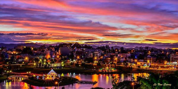 Toàn cảnh thành phố Bảo Lộc. Ảnh: Le Van Cuong