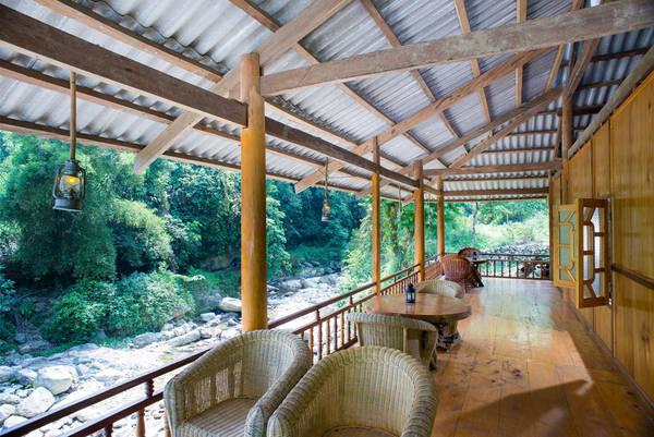 Ảnh: Nam Cang Riverside Lodge