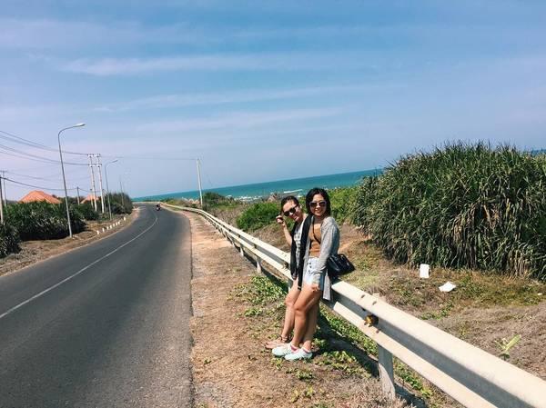 Cung đường ven biển Kê Gà. Ảnh: suephamgp