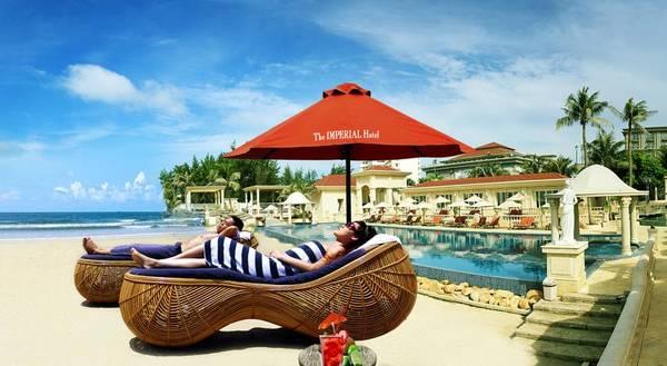 Du khách sẽ hoàn toàn thư giãn khi nghỉ ngơi tại Khách sạn Imperial Vũng Tàu.