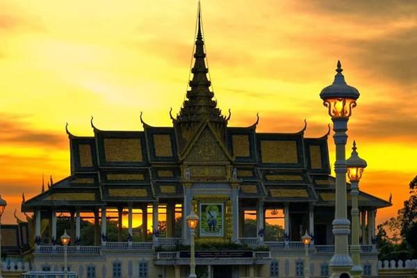 Hoàng cung Campuchia. Ảnh: Haivd22/blogspot.