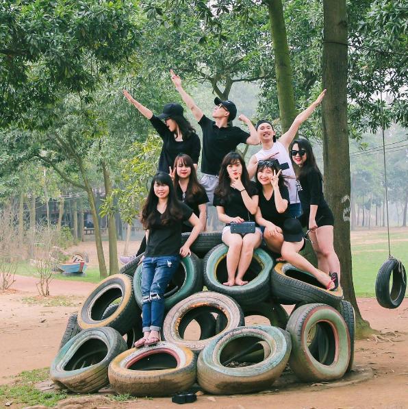 Kết quả hình ảnh cho cắm trại dã ngoại Sơn Tinh camping