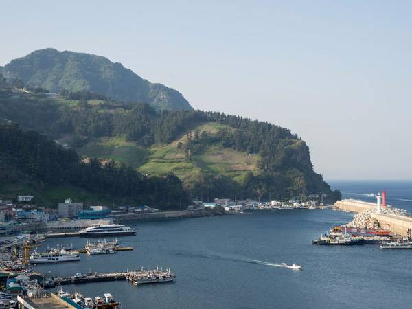 Đảo Ulleungdo (Hàn Quốc). Ảnh: Shutterstock/Taesik Park