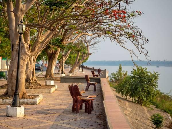Thành phố Kratie (Campuchia). Ảnh: Shutterstock/LMspencer