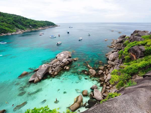 Đảo Similan (Thái Lan). Ảnh: BI