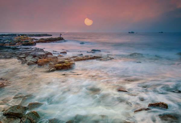 Thạch Ky Điếu Tẩu đẹp nên thơ vào buổi sáng - Ảnh: Đào Tiến Đạt