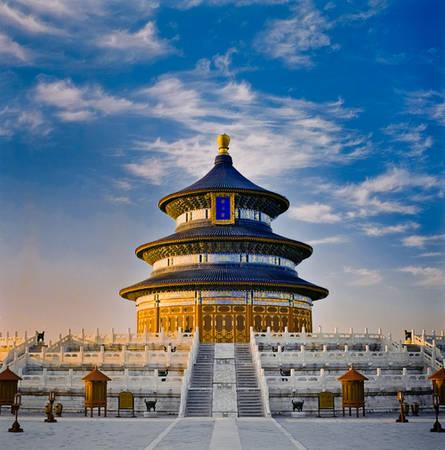 Thiên Đàn là nơi có kiến trúc rất ấn tượng mang đậm nét Trung Hoa.