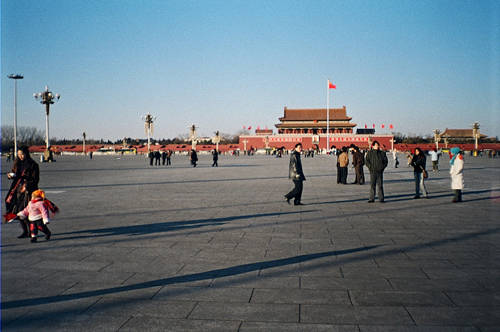 Quảng trường Thiên An Môn là nơi từng diễn ra rất nhiều các sự kiện quan trọng trong lịch sử.