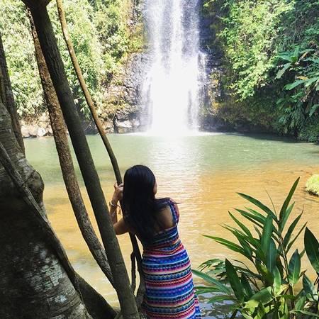 """Mọi người còn gọi đây là mảnh đất """"bảy hồ, ba thác"""" gắn liền với truyền thuyết thần Pling tạo ra nơi này như thế nào. Bảy hồ nước đó là: Toong Ly Leng, Toong Ziu, Toong Zơ Ri, Toong Săng, Toong Pô, Toong Đam và Đak Ke. Và ba ngọn thác là thác Pa Sỹ, Đak Ke và Đak Pne. Ảnh:mirandahoang"""