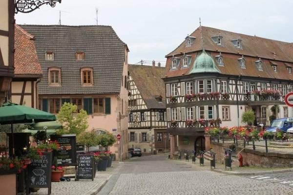 Một góc phố ở Mittelbergheim - Ảnh: wp
