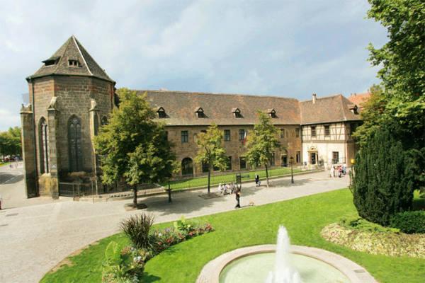 Bảo tàng Unterlinden ở Colmar - Ảnh: wp
