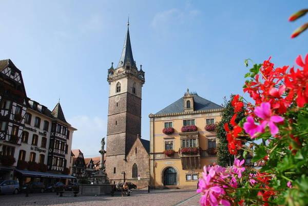 Bạn sẽ thấy nhiều di sản kiến trúc đẹp nhất Obernai ở quảng trường Chợ thuộc khu trung tâm thị trấn - Ảnh: wiki