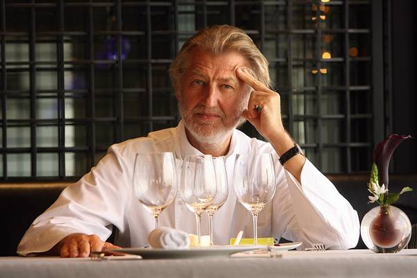 Bếp trưởng Pierre Gagnaire
