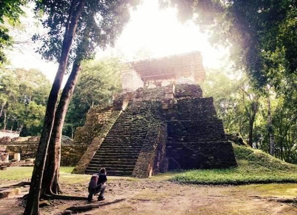 Calakmul, Mexico: Nằm trong khu rừng nhiệt đới của Tierras Bajasok, Calakmul là nơi trị vì của vương quốc Snake, với hệ thống tưới tiêu xuất sắc và một kim tự tháp nghi lễ lớn - cả hai đều là công trình lớn nhất trong loại của mình. Du khách còn có thể tham gia các tour ngắm báo, khỉ hay hươu từ khu di tích này. Ảnh: Telegraph.