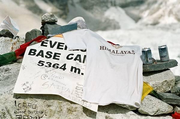 Tại EBC ở độ cao 5.364 m.