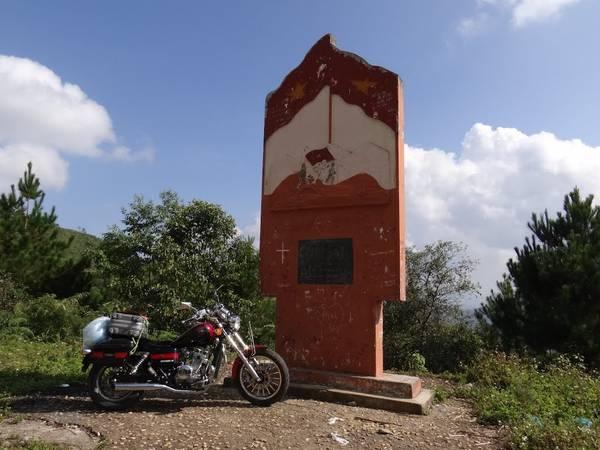 Đỉnh đèo Pha Đinh cũ. Ảnh: Panoramio