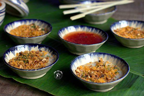 Bánh bèo được coi là một trong những món ăn vặt phổ biến nhất tại Quy Nhơn. Ảnh:nauan30s.blogspot.com