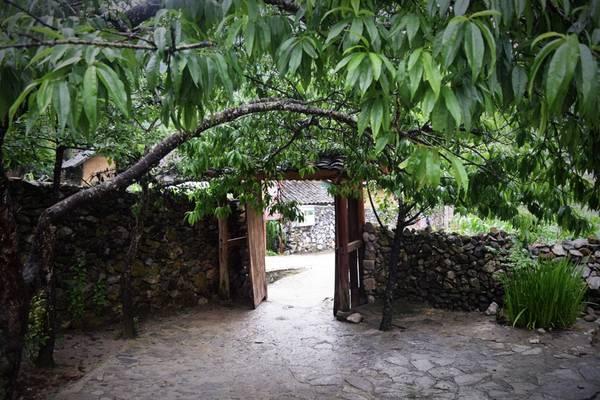 Cổng nhà Pao.
