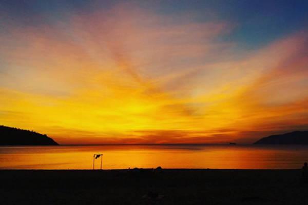 Làng Vân cũng là một nơi ngắm cảnh bình minh và hoàng hôn rất đẹp.Ảnh: Baotrinh243