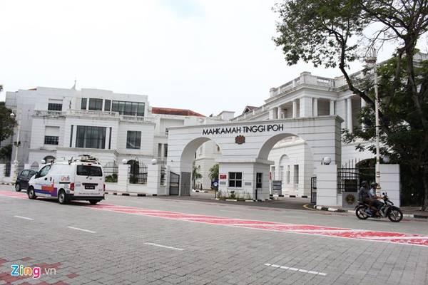 Tòa án tối cao Ipoh. Ảnh: Bảo Phong.