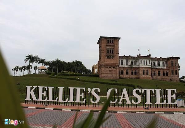 Lâu đài ma bí ẩn Kellie's Castle. Ảnh: Bảo Phong.