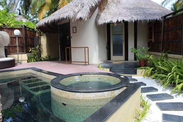 Những trải nghiệm thượng lưu : Banya Tree có villa biệt lập với hồ bơi riêng và jaccuzzi.